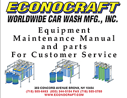 Econocraft Car Wash Parts
